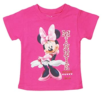 Tops & T-shirts Disney Minnie Mouse Pink Toddler Girls Shirt Top  2t