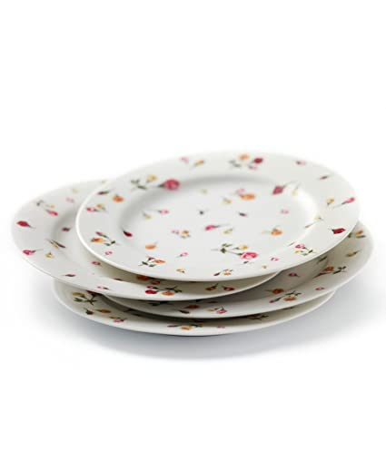 Country Rose Buds S/4 Dessert Plates  sc 1 st  Amazon.com & Amazon.com | Country Rose Buds S/4 Dessert Plates: Royal Albert New ...