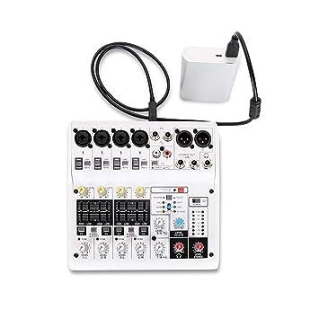 EdBerk74 Tarjeta de Sonido de 8 Canales Mezclador de Audio ...