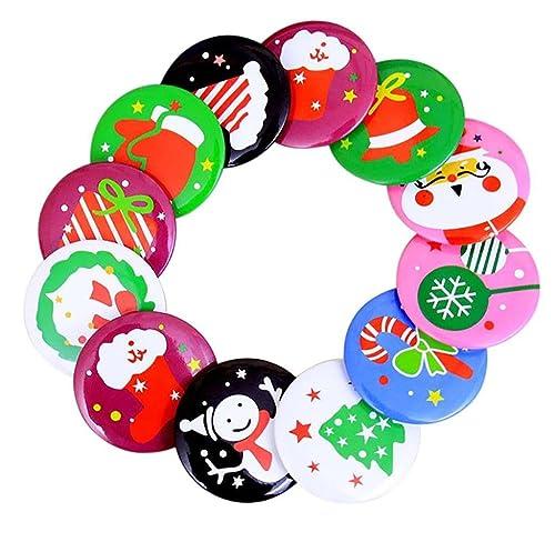 10 Piezas Holacha Lindo Broche de Navidad Accesorios de Ropa Bolso