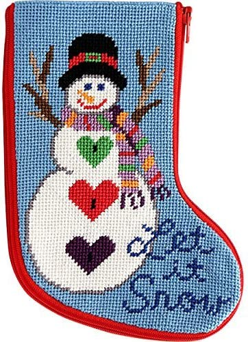 Dimensions Needlecrafts Let It Snow Mini Counted Cross Stitch Kit