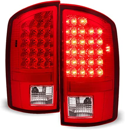 For 2007-2008 Dodge Ram 1500 2009 2500 3500 Tail lights Lamps Replacement Left+Right ACANII