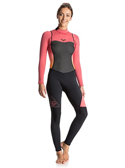 ae4a38e693 Amazon.com   Roxy 3 2mm Syncro Back Zip FLT Women s Full Wetsuits ...