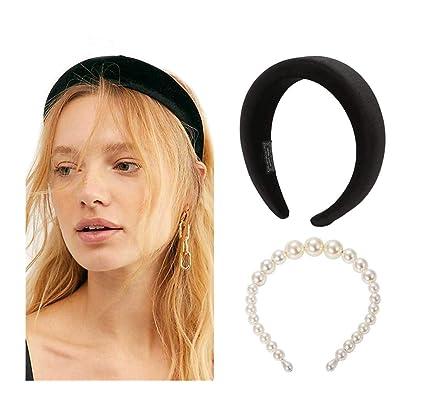 POPINK Womens Padded Headbands Fashion 2PCS
