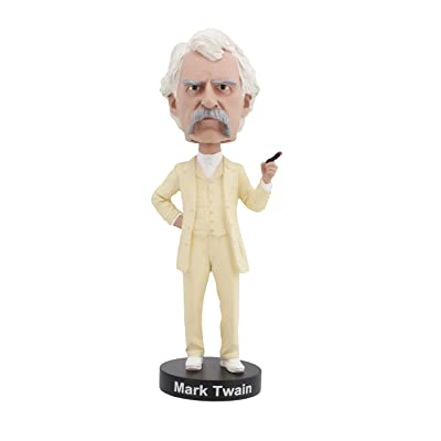 Royal Bobbles Mark Twain Bobblehead: Toys & Games