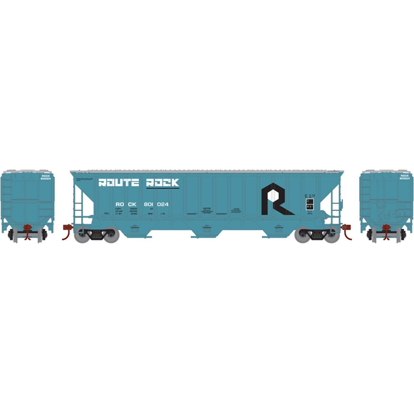 HO RTR PS 4740 Covered Hopper RI #801024