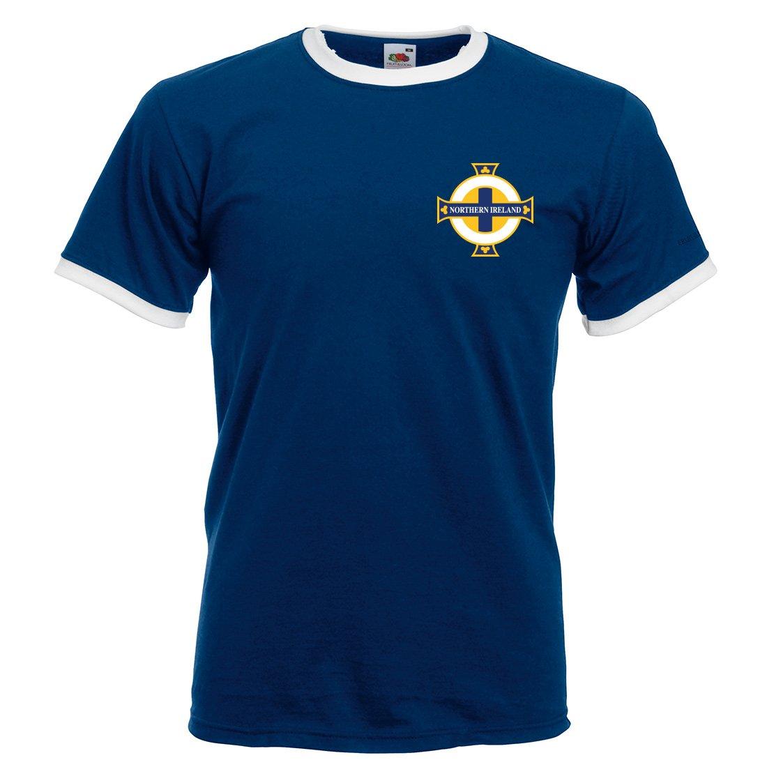 Maßgeschneiderte Herren T-shirt, individualisierbar, Nordirland ...