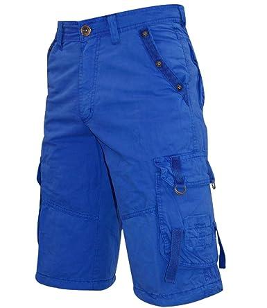 True Face Mens 1601 Denis Cargo Combat Casual Shorts: Amazon.co.uk: Clothing
