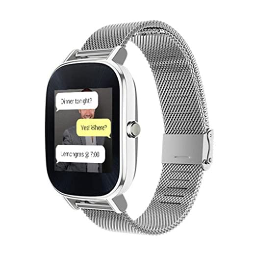 Amazon.com: Asus Zenwatch 2 Bands,GBSELL New Milanese ...