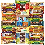 Ultimate Healthy Bars & Snack Office Care Package Includes Kind, Cliff, Belvita, Nature Valley, Fiber One & More Bulk Sampler (30 Count)