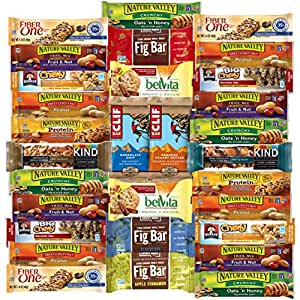 Amazon.com: Snack Chest Ultimate Healthy Bars & Snack