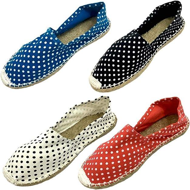 Alpargatas Boda Lunares Surtidas de Colores (Caja de 24 Pares) Detalles de Boda Comprar Online: Amazon.es: Zapatos y complementos