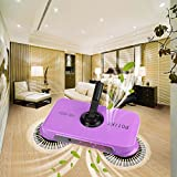 Kotak Sales Magic Broom Smart Multifunction Whirlwind 360 Degree Rotating Sweeper Hand Push Vacuum Floor Cleaner Automatic Dustpan Stainless Steel Broom Handle Cleaning Machine for Home, Offices etc