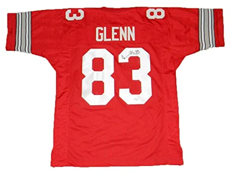 ec745c151ba Terry Glenn Autographed Jersey - Ohio State Buckeyes #83 Red - JSA  Certified - Autographed