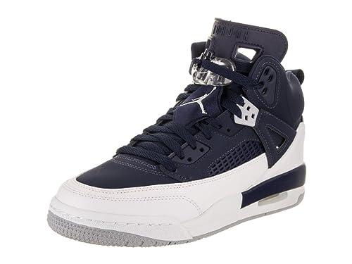best website 61d49 ca2f0 ... Jordan Nike Spizike Kids BG Metallic Silver 317321-406 (Size 3.5Y)  professional ...