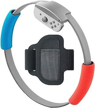 Feicuan Correa para Pierna para Ring Fit Adventure y Funda de Acolchado de Agarre para Ring-con, Elástico Ajustable Deportivo Leg Band y Cubiertas Suaves de Agarre para Nintendo Switch Ring-con: Amazon.es: Electrónica