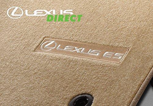 Lexus Genuine Parts 2013-2015 ES350, ES300h Carpet Floor Mats, Ivory