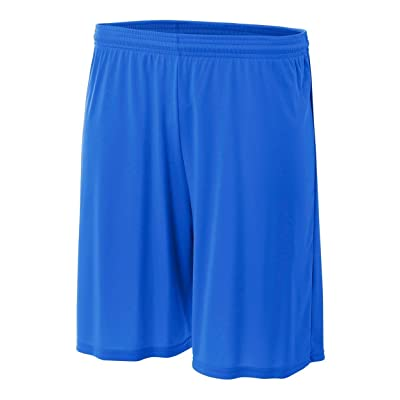 A4 Mens 9 Inseam Cooling Performance Short (N5283) -ROYAL -M