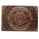 YMIX  Plastic Cover Snap on Hard Protective Case for MacBook Air 13'(A1466 & A1369) , 01 Woodcut Circle