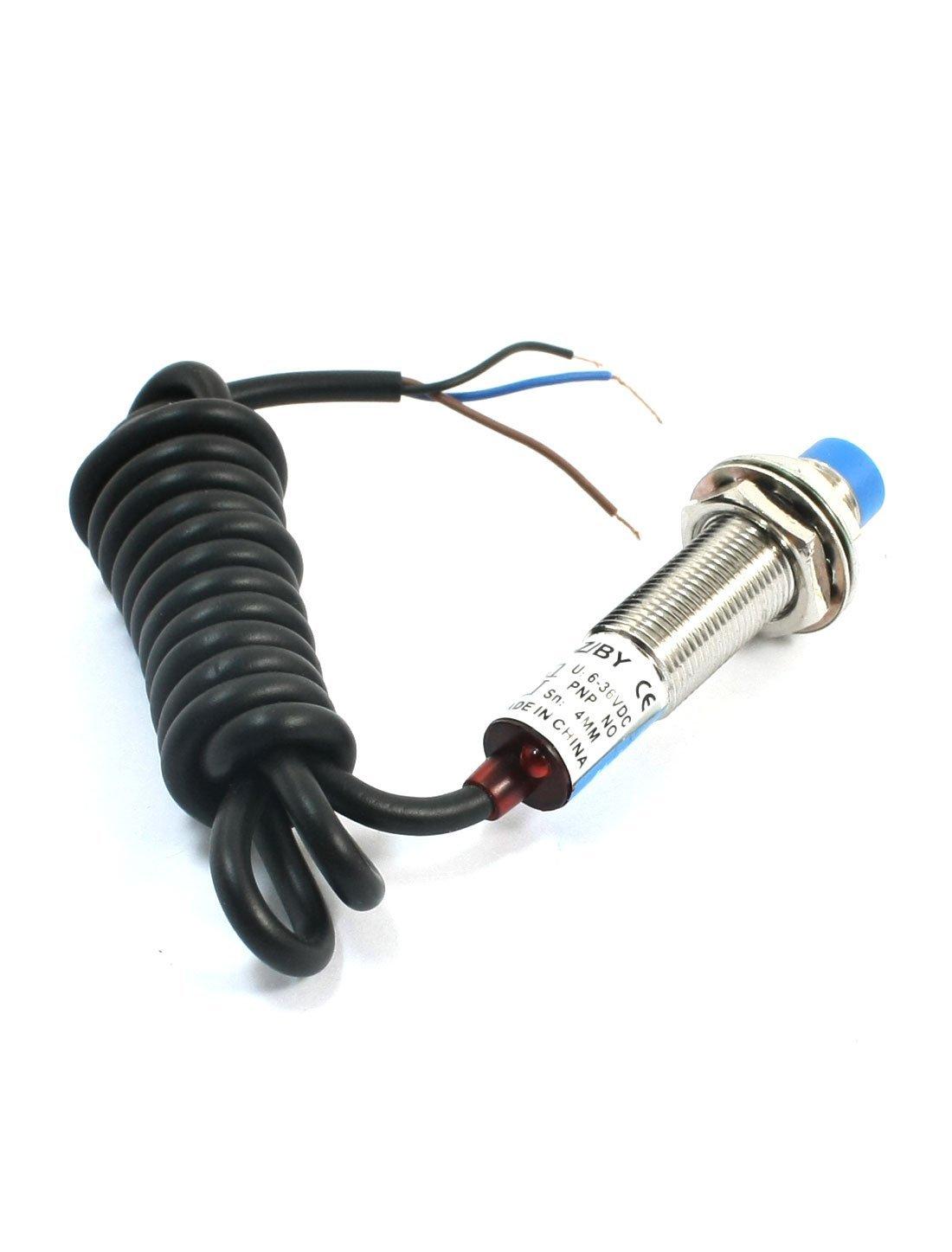 eDealMax LJ12A3-4-Z 3-Cable del interruptor de DC 6-36V de proximidad inductivos detección del Sensor: Amazon.com: Industrial & Scientific