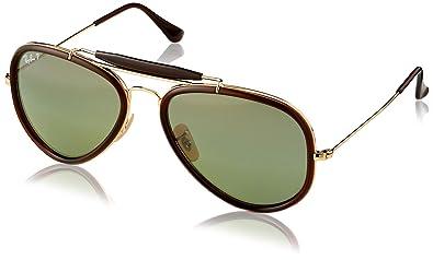 9eace09d2d Amazon.com  Ray-Ban Sunglasses ROAD SPIRIT (RB 3428 001 M4 54)  Shoes