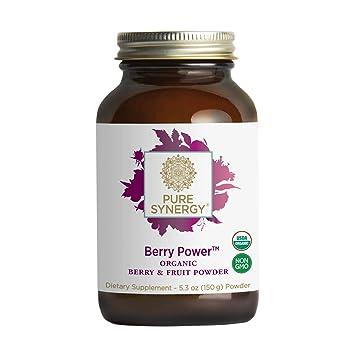 Amazon.com: Pure Synergy Organic Berry Power 20+ mezcla de ...