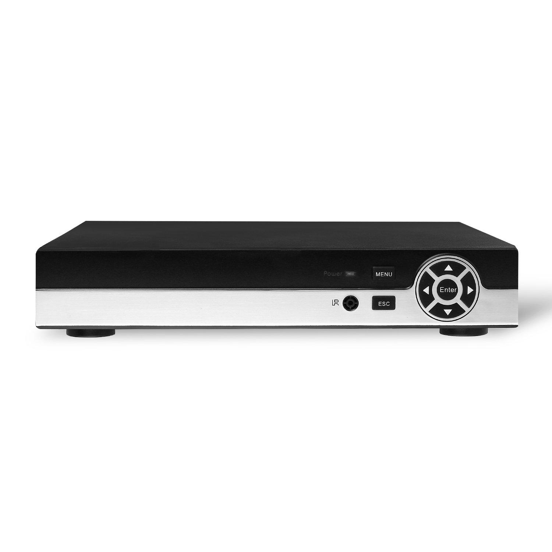 Enregistreur vid/éo r/éseau POE 8 canaux NVR HD 1080P 48V 802.3af Standard Syst/ème HDMI 8 canaux CCTV NVR ONVIF P2P pour cam/éra IP Revotech/® N7608S-P8