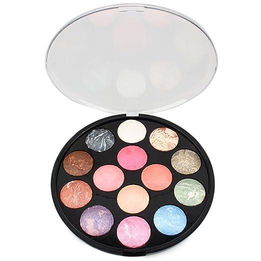 Lidschatten Eyeshadow Makeup Kit Set Lidschatten Gesichtspinse Augenbrauenserum Wimpernverlängerung Augen Schminken Magnetisc
