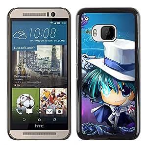 EJOY---Cubierta de la caja de protección la piel dura para el / HTC One M9 / --Anime japonés