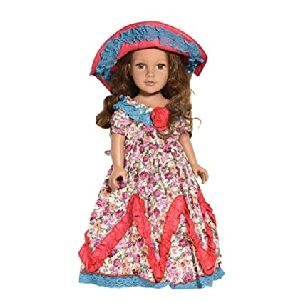Amazon Com Highpot Diy Doll Skirt Party Dress Doll Clothes For 18