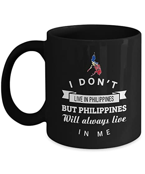 Philippines Always Live In Me Coffee Mug