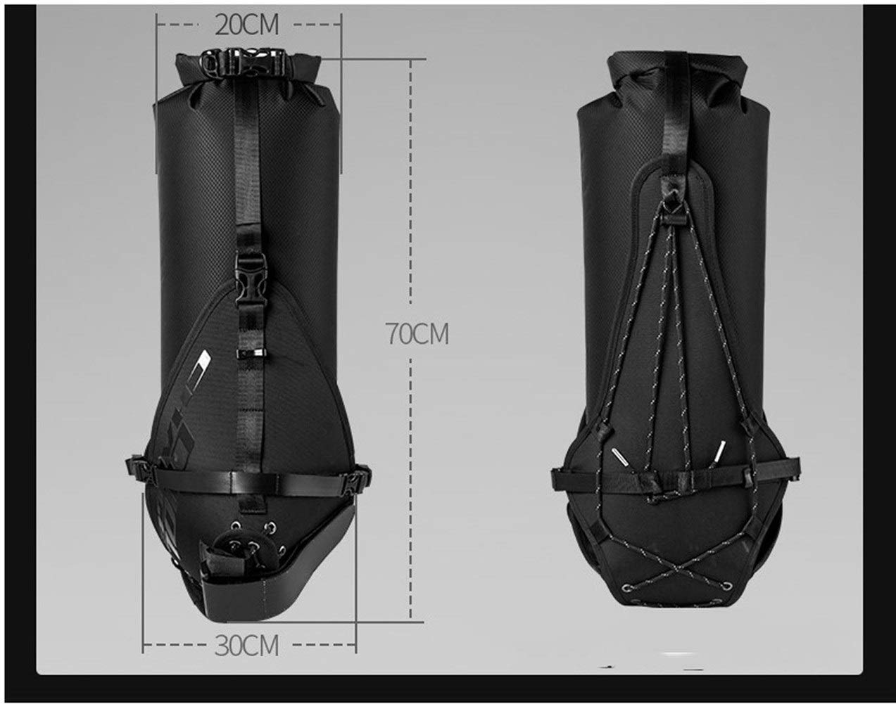 clásico atemporal Water-proof bag Bicicleta cola cola cola bolsa completa impermeable bicicleta de montaña bolsillo trasero bolsa colgante marco trasero resistente a los rasgones bolsa de montar bicicleta de Cocheretera equipo de bicicleta  ¡no ser extrañado!