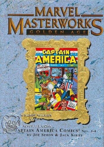 MARVEL MASTERWORKS Volume 43 [Variant Cover, Golden Age] CAPTAIN AMERICA 1-4