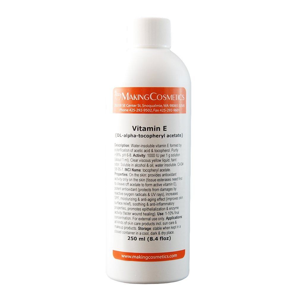 Vitamin E (dl-alpha tocopheryl acetate) - 8.4floz/250ml