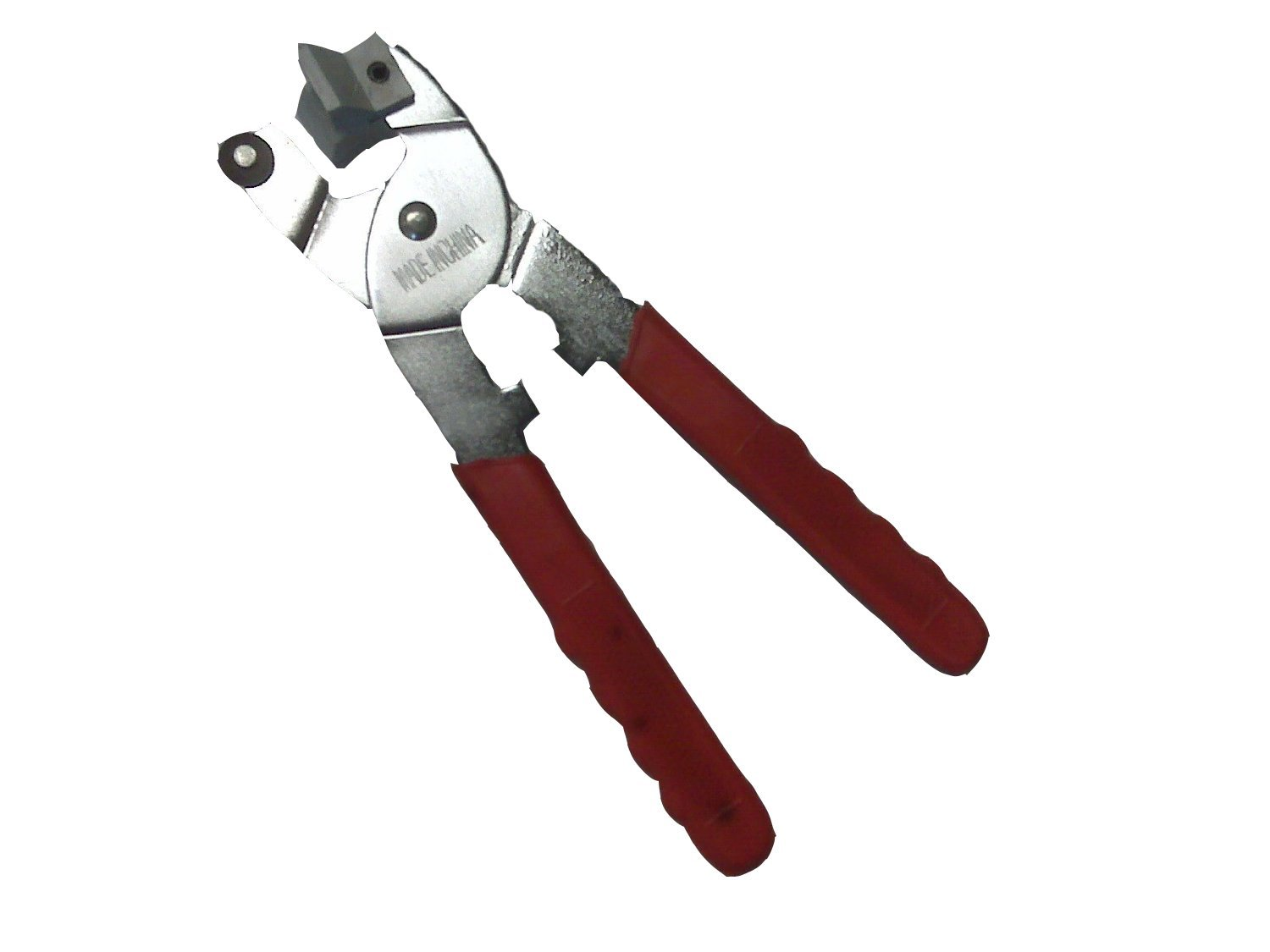 TBC Glass and Tile Cutter: Tile/Glass Cutting Pliers with Tungsten Carbide Cutting Wheel: Simply Score & Squeeze to Break