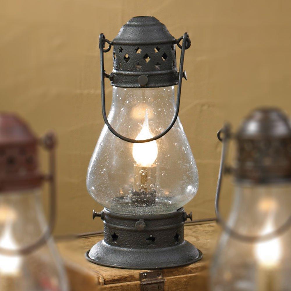 "Park Designs Tall Black Onion Lamp 9-1/2"""
