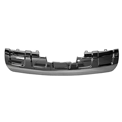 Bumper Trim For 2010-2015 Chevrolet Equinox Models w// Chrome Pckg Front
