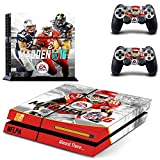 PS4 MADDEN NFL 16 Waterproof Vinyl Skin Decal Cover for Playstation 4 System Console and Controllers