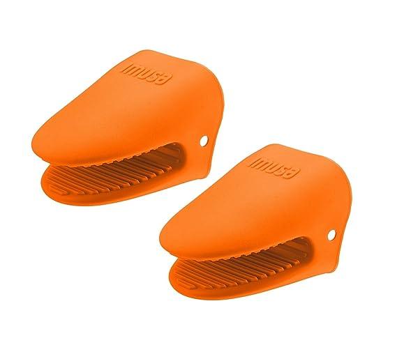 IMUSA Mini horno mitts- 2pk juego de guantes, de cocina, de silicona ...