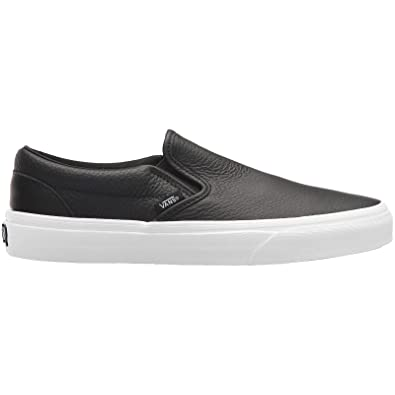 new photos uk store popular stores Vans Unisex Classic Slip-on DX Leather Black White Trainers ...