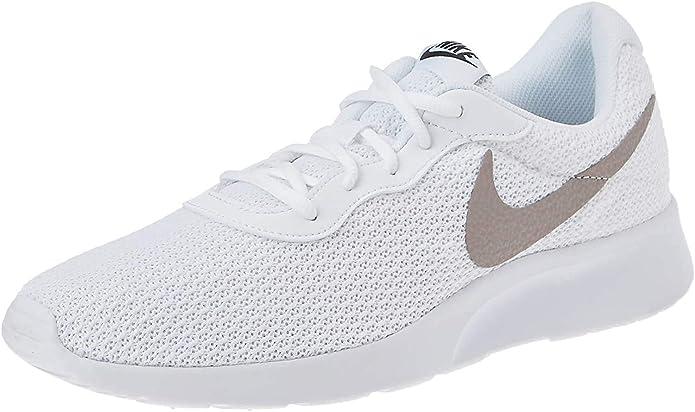Nike Tanjun Sneakers Laufschuhe Herren Weiß/Grau