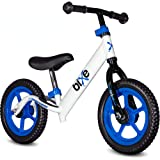 Bixe: Blue (Lightweight - 4LBS) Aluminum Balance Bike for Kids and Toddlers - No Pedal Sport Training Bicycle - Bikes for 2,