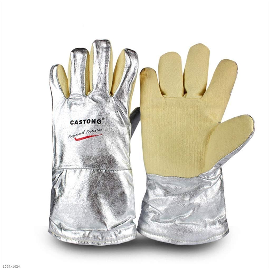 NYTYU Guantes de Papel de Aluminio de Alta Temperatura Horno ...