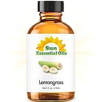 Lemongrass Essential Oil (Huge 4oz Bottle) Bulk Lemongrass Oil - 4 Ounce