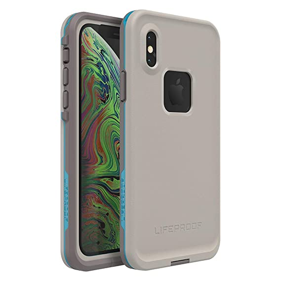 big sale dec17 3e752 Lifeproof FRĒ Series Waterproof Case for iPhone Xs - Retail Packaging -  Body SURF (Cement/Gargoyle/Hawaiian Ocean)