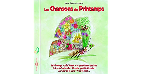 Amazon.com: Les chansons du printemps: Marcel Zaragoza: MP3 ...