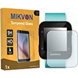 1x Mikvon Tempered Glass 9H for Garmin Forerunner 35 Glassfilms Screen Protector - Retail Package with accessories