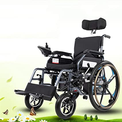 Amazon.com: NIGHT WALL silla de ruedas eléctrica para ...