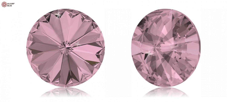 Cristales de Swarovski 1150807 Piedras Redondas 1122 SS 47 Crystal ANTIQUPINK F, 288 Piezas