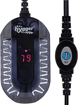 Amazon.com: Hygger - Mini calentador de cristal para acuario ...